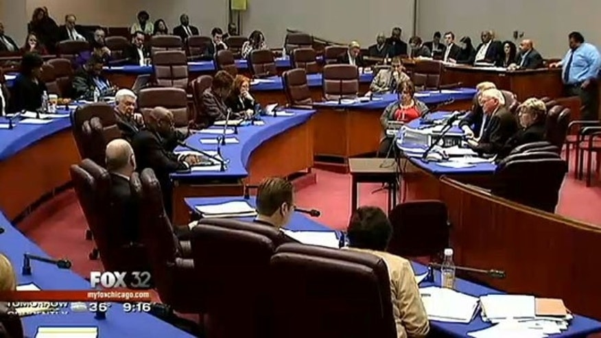 Jan. 15, 2013: Chicago's City Council meets.