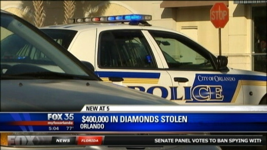 Jan. 15, 2013: Police respond to reports of a diamond theft at a Sweet Tomatoes restaurant.