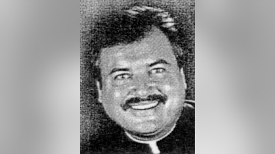 FILE - This 1974 file photo provided by the Archdiocese of Los Angeles shows former Catholic priest, Michael Baker. Los Angeles Cardinal Roger Mahony didn't call police in 1986 after a priest admitted to molesting two boys and didn't warn parishioners because the cleric, the Rev. Michael Baker, told him they were illegal immigrants who had returned to Mexico, according to a court deposition released Tuesday June 15, 2010. (AP Photo/Archdiocese of Los Angeles, File)
