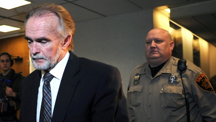 Jan. 22, 2013: Arthur Schirmer, a former associate pastor at a Methodist church in northeast Pennsylvania, walks into court to hear the verdict in his murder trial in Stroudsburg, Pa.