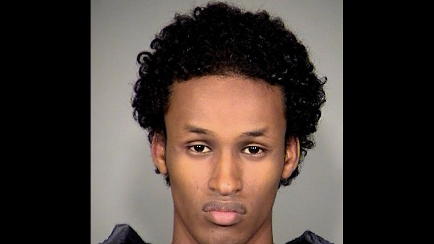 This file image released Nov. 27, 2010, by the Multnomah County Sheriff's Office shows Mohamed Osman Mohamud.  An attorney for Mohamed Osman Mohamud,a terrorism suspect,  tried to draw into question the accuracy and selectiveness of the written records made by an FBI agent who headed up the undercover investigation into her client on Jan. 23, 2013.