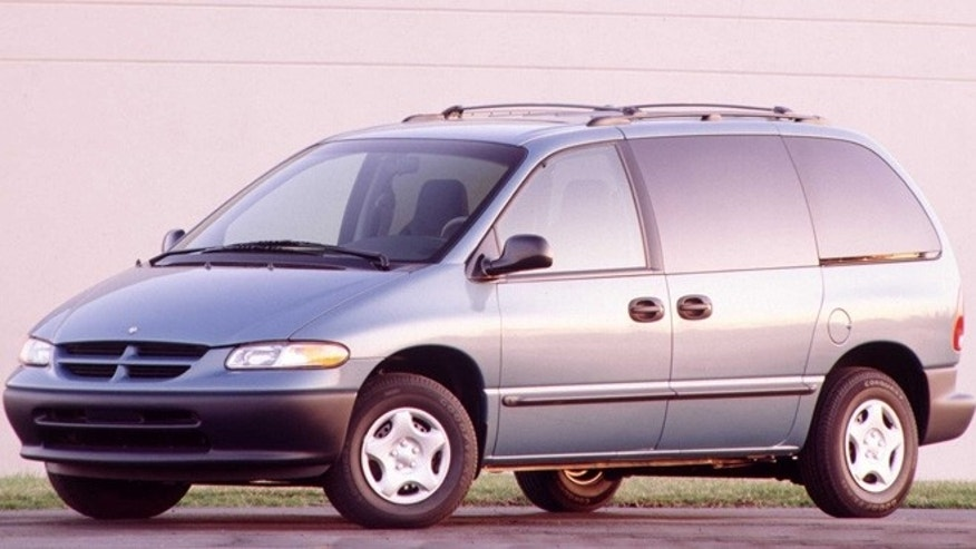 Kirchmaier said she currently drives a white 1997 Dodge Caravan.