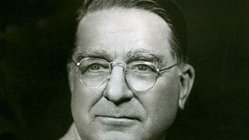 The Bible once belonged to the legendary Branch Rickey, who had previously helped knock down baseball's color barrier by signing Jackie Robinson. (Courtesy: Major League Baseball Hall of Fame).