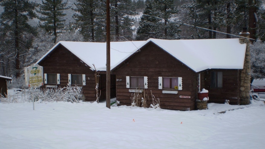 The cabin was the main lodge for a 9-unit facility that outdoor revelers could rent a place to stay.
