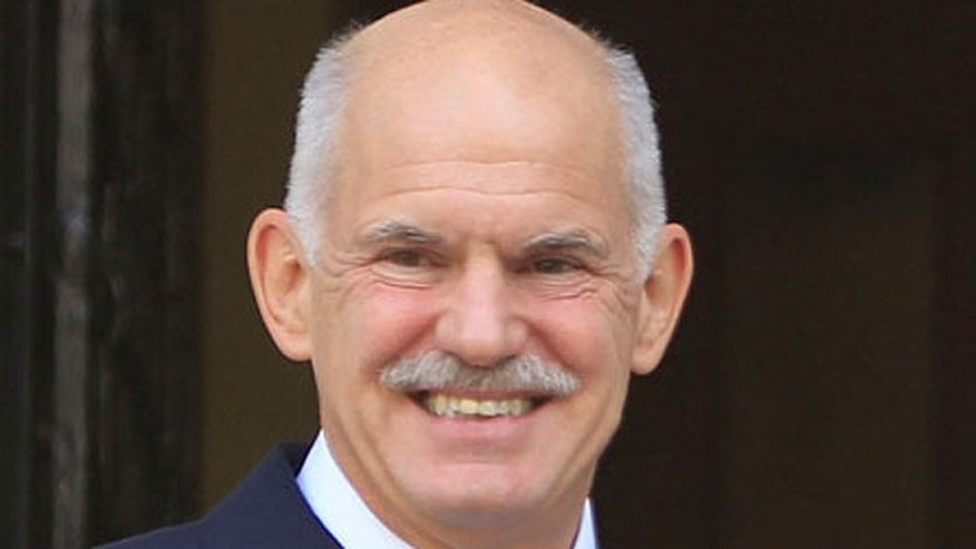 "George Papandreou, who served as Greek's prime minister from October 2009 through November 2011, began teaching a course at Columbia on the European financial crises of recent years in late January and will host a lecture Wednesday on ""Bailouts and Ballots: The New Challenges to Democracy and the Case of Europe."" Some critics question the partnership. (AP)"