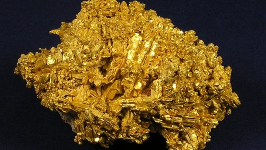 A gold nugget, found in Nevada, which was taken during the heist.