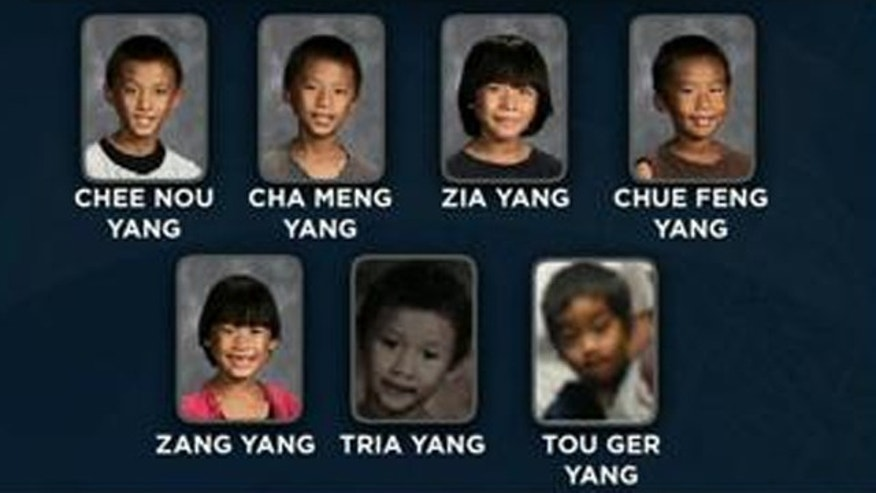 Seven children from Fresno vanished from their home while their mother was at the store.