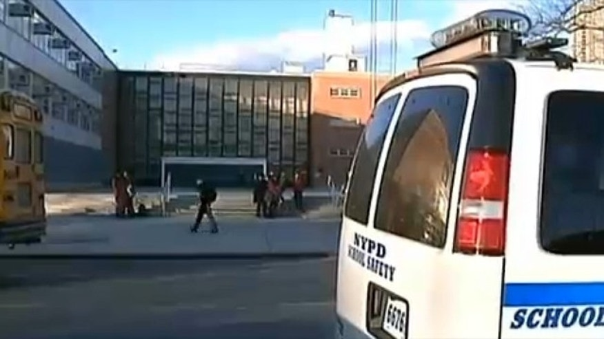 Mar. 4, 2013: Track team members are accused of assaulting a freshman at the Bronx High School of Science.