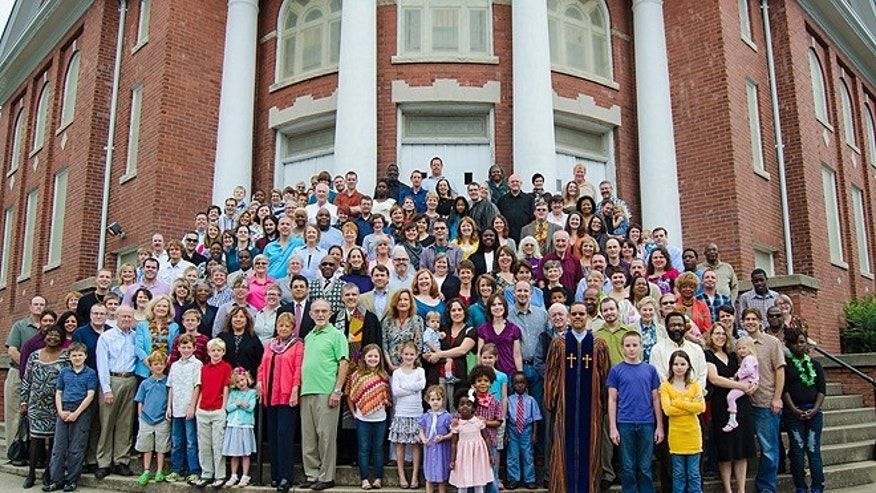 Rev. Kelly Carpenter told FoxNews.com on Monday that his 400-member congregation and its 18-member Leadership Council have long considered the move. (Green Street United Methodist Church)