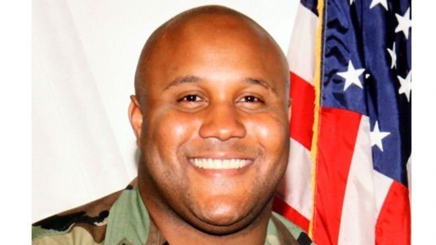 UNDATED: This image shows accused quadruple-murder suspect Christopher Dorner.