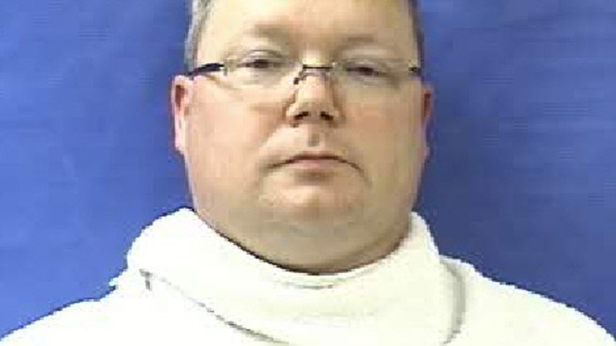 FILE - This photo provided by the Kaufman County Sheriff's Office shows Eric Williams. Williams, a former Texas justice of the peace seeking revenge for a theft conviction that ended his judicial career, carried out a plot with his wife to kill the men who prosecuted him, authorities said Thursday, April 18, 2013. (AP Photo/Kaufman County Sheriff's Office, File)