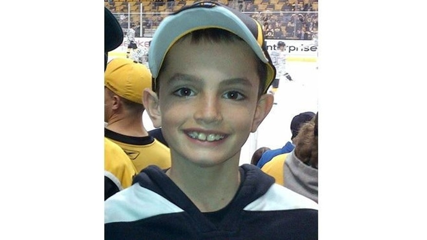 UNDATED: This photo provided by Bill Richard shows his son, Martin Richard, in Boston. Martin Richard, 8, was among the at least three people killed in the explosions at the finish line of the Boston Marathon Monday, April 15, 2013.