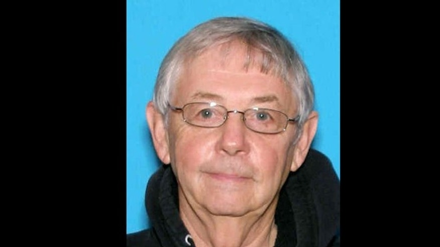 This undated photograph provided by the King County Sheriffs Office in Seattle show Earl Cossey, 71, of Woodinville.