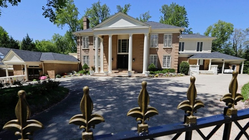 May 2, 2013: This house in McLean, Va., owned by the government of Saudi Arabia, was investigated by the U.S. Immigration and Customs (ICE) officials on a report of human trafficking.