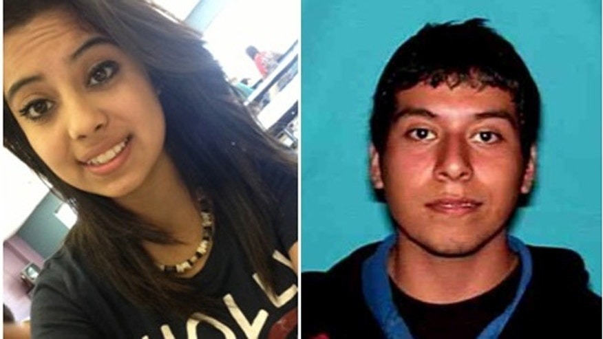 Ruby Zavala, 14, and Jesus Ramirez, 22.