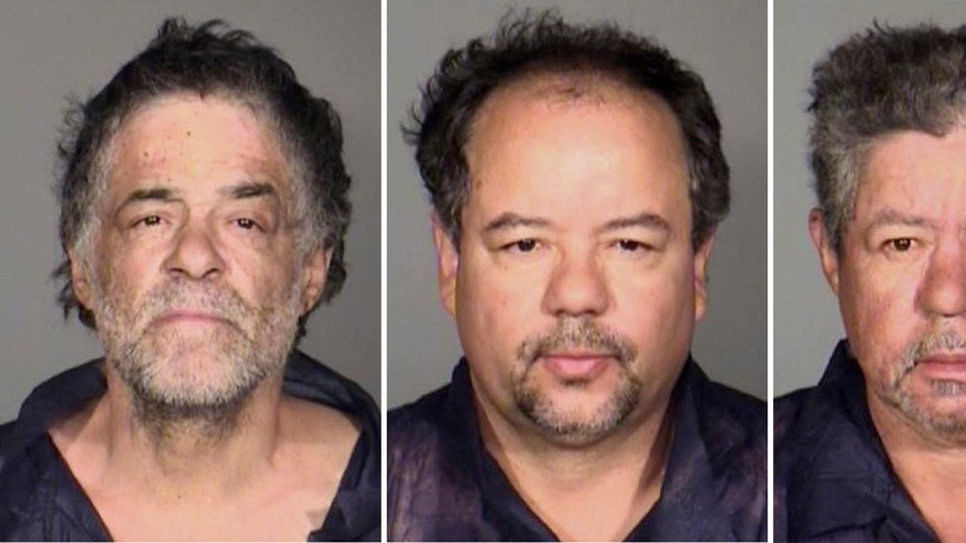 This undated combination photo released by the Cleveland Police Department shows from left, Onil Castro, Ariel Castro, and Pedro Casto.The three brothers were arrested Tuesday, May 7, 2013, after three women who disappeared in Cleveland a decade ago were found safe Monday. The brothers are accused of holding the victims against their will. (AP Photo/Cleveland Police Department)