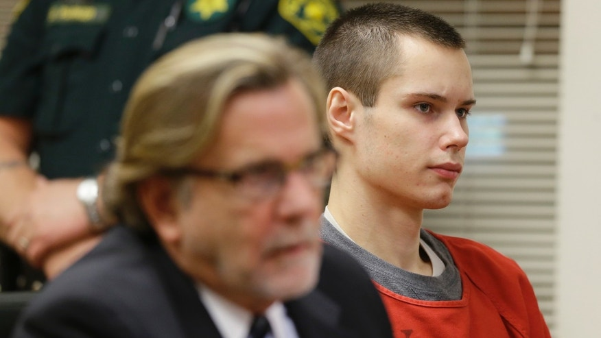"Colton Harris-Moore, right, who is also known as the ""Barefoot Bandit,"" sits in a Skagit County Superior Courtroom, Wednesday, May 8, 2013, in Mount Vernon, Wash., next to his attorney, John Henry Browne, left. Harris-Moore pleaded guilty Wednesday to a burglary charge for stealing an airplane and flying it to Orcas Island, Wash., but as part of a plea deal with Skagit County Prosecutor Rich Weyrich, the 22-year-old was sentenced to three months he's already spent in jail and he will return to serving his seven-year prison sentence for other crimes. (AP Photo/Ted S. Warren)"