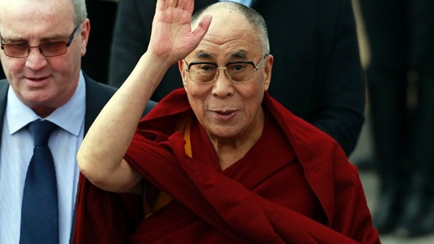 April 18: The Dalai Lama, seen in northern Ireland, is set to visit New Orleans.