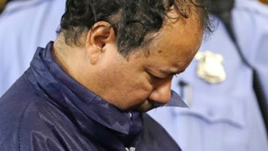 May 9, 2013: Ariel Castro appears in Cleveland Municipal court in Cleveland.