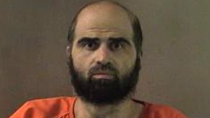 The military can't take away the salary of Nidal Hasan, the Army psychiatrist charged in the deadly 2009 Fort Hood shooting, until he has been convicted.