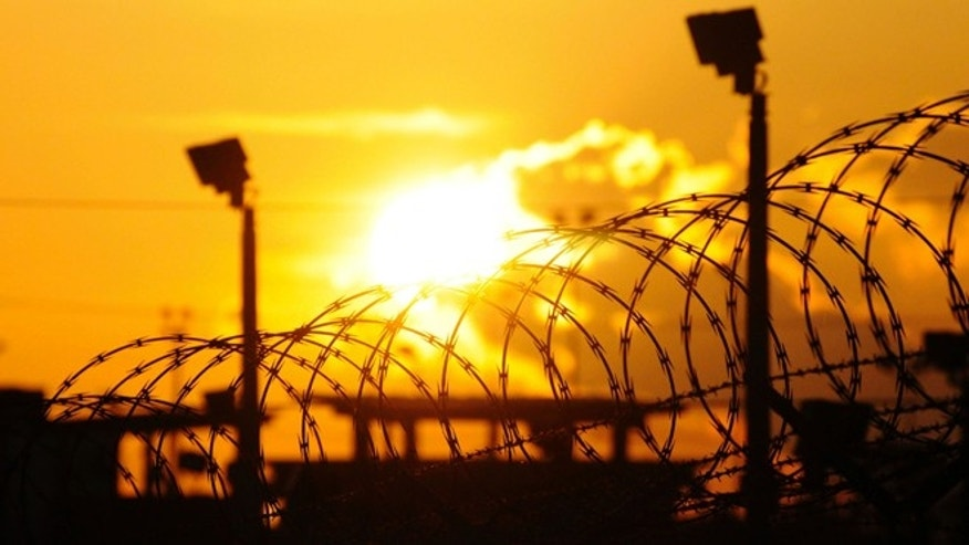 More than 100 detainees at the detention center at U.S. Naval Base Guantanamo Bay, in Cuba, are on hunger strike. (AP)