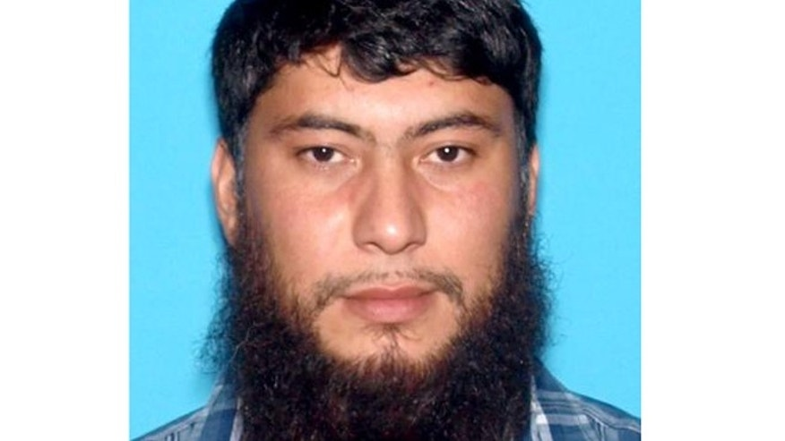 This undated image provided by the Idaho State Police shows Fazliddin Kurbanov.