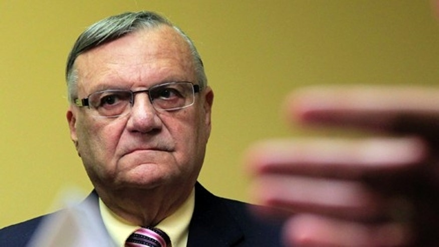 Chicago Public Schools officials insist a question featuring a fictitious anti-immigration advocate named 'Arie Payo' was not created with Maricopa County Sheriff Joe Arpaio in mind. The question has since been pulled from an online database. (AP)