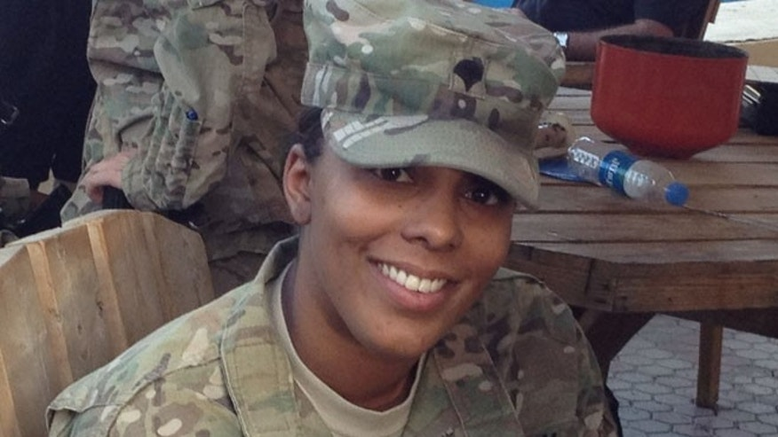 This undated photo, provided by a family member, shows 24-year-old Spc. Brittany B. Gordon, who was killed by a suicide bomber in Afghanistan's Kandahar province in Oct. 2012.
