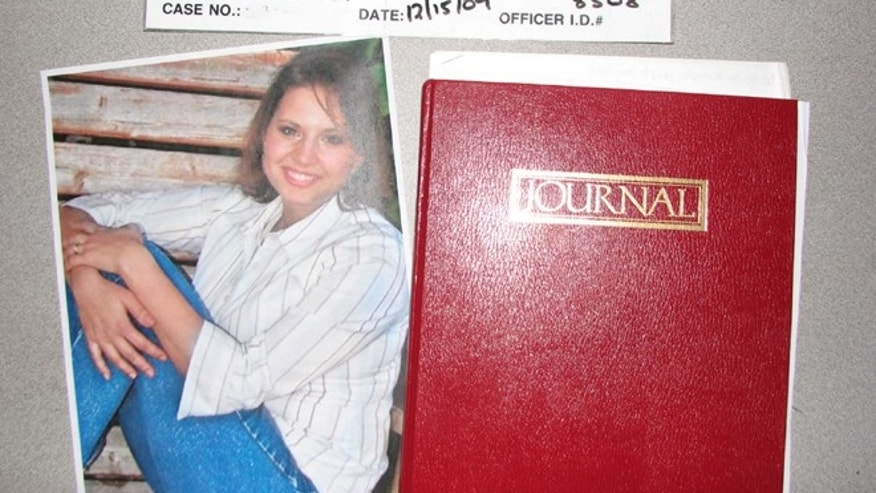 May 20: Evidence photo released by the West Valley City Police Department shows a journal collected from Josh and Susan Powell's house.