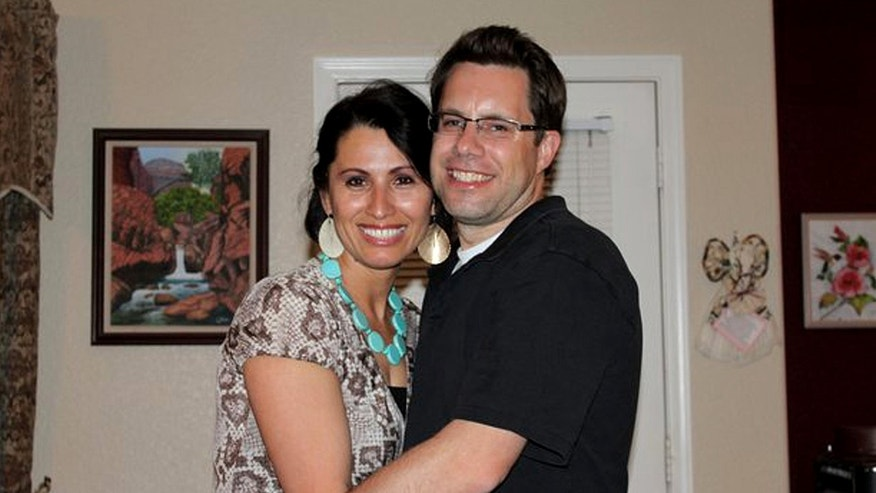 In a photo provided by the Maldonado family Gary and Yanira Maldonado are shown in  2012.   The arrest of Yanira Maldonado, 42, has prompted outrage in the U.S. among politicians and her family members, who say she was set up when her bus was stopped at a military checkpoint last week and authorities found nearly 12 pounds of marijuana under her seat. She was immediately sent to a Mexico prison. (AP Photo/Maldonado Family)