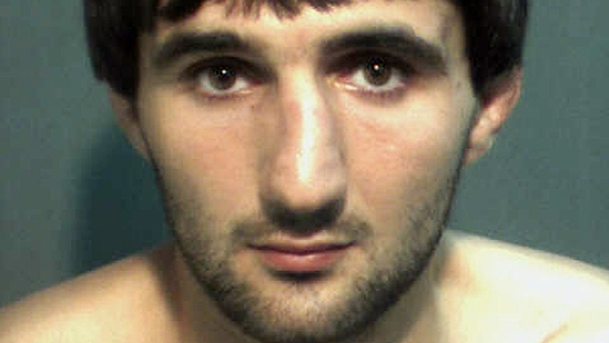 May 4, 2013: This police mugshot provided by the Orange County Corrections Department in Orlando, Fla., shows Ibragim Todashev after his arrest for aggravated battery in Orlando. (AP)
