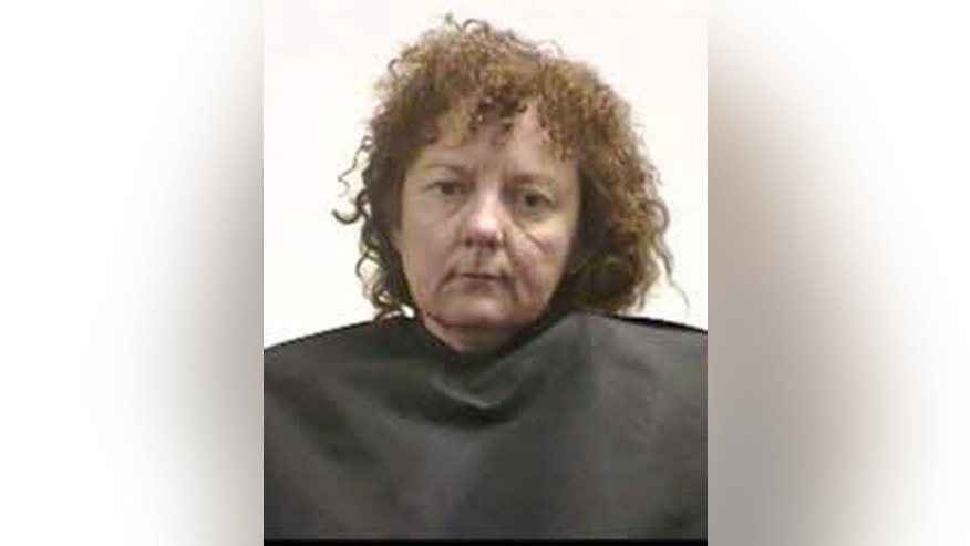 October 25: Mugshot shows Susan Hendricks, 48, has been charged with four counts of murder for the deaths of her two sons, ex-husband and stepmother.