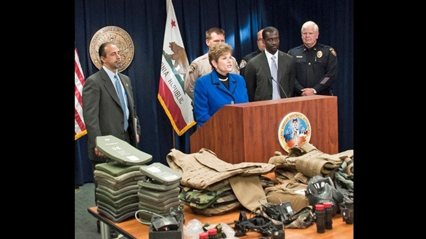 June 6, 2013: San Diego District Attorney Bonnie Dumanis announces an undercover auto theft operation that resulted in 64 indictments, including several military personnel.