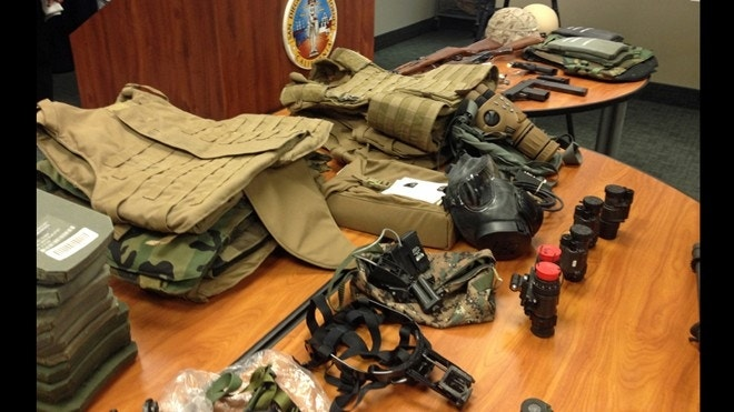 64 indicted including military personnel in san diego for Us motors san diego