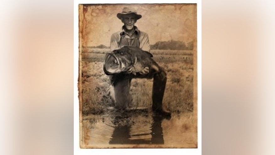 This photo turned up mysteriously on the anniversary of George W. Perry's record catch. (Augusta Chronicle)