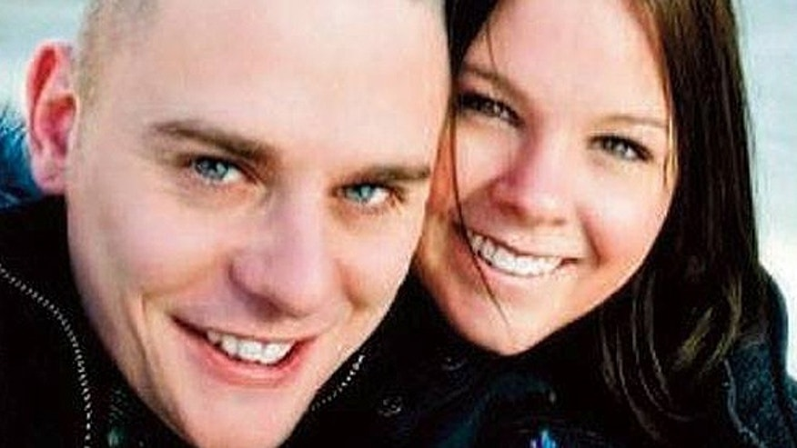 Eric Langlois, 33, of New Milford, Conn., was reported missing by his wife Amber, right, on June 11, a day after Langlois fell off his bike, landing in Lake Lillinonah in Lovers Leap State Park. Langlois' wife told authorities that the father of two was able to safely reach shore after the fall, but did not return home the following day after an attempt to retrieve the bike. (Courtesy: Amber Westlake Langlois)
