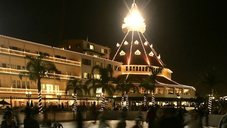 The Hotel Del Coronado in San Diego, California.