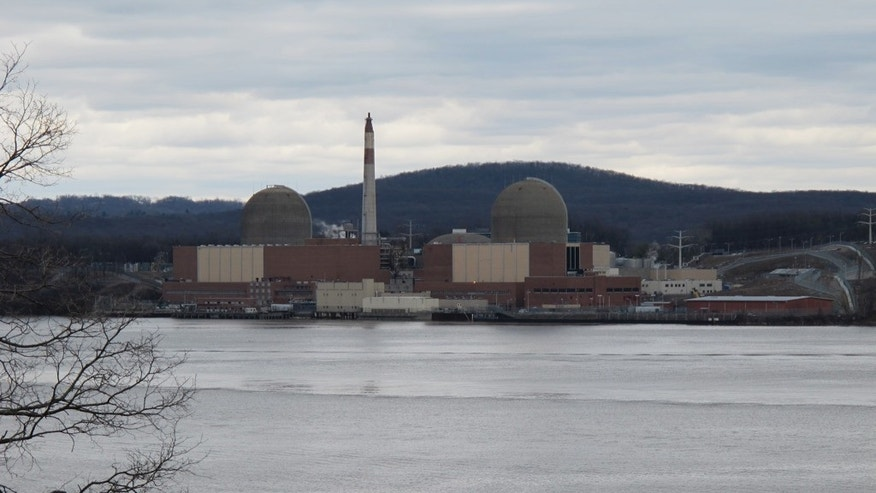 The Indian Point Nuclear Plant sits 35 miles north of New York City.