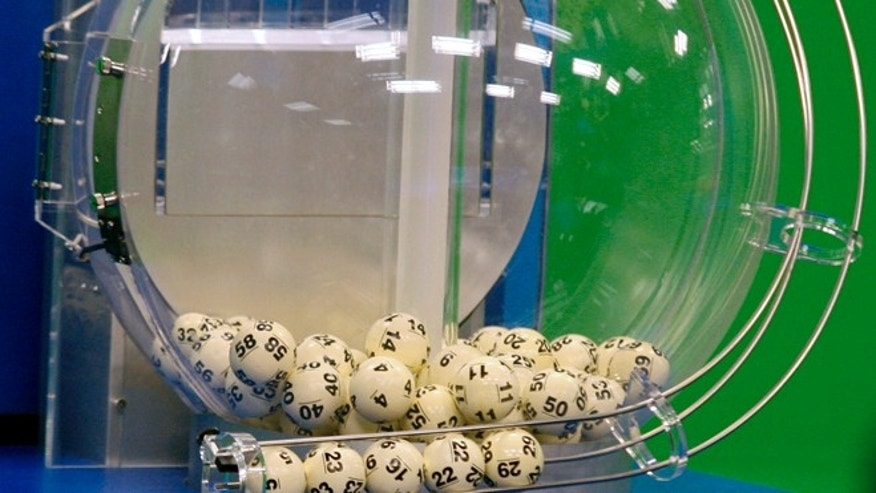 Nov. 28, 2012: Powerball numbers are chosen in the $579.9-million game drawing at the Florida Lottery in Tallahassee, Fla. No one hit the Powerball jackpot on Saturday, so the $400-million prize will roll over for the next drawing on Wednesday. (AP/Phil Sears, File)