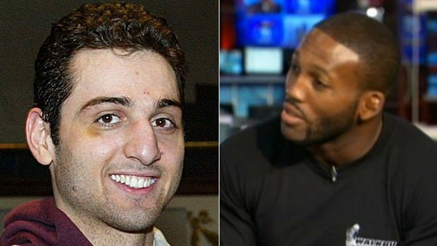 John 'Doomsday' Howard, right, says he 'could have handled it' if he knew Tamerlan Tsarnaev's alleged plans.
