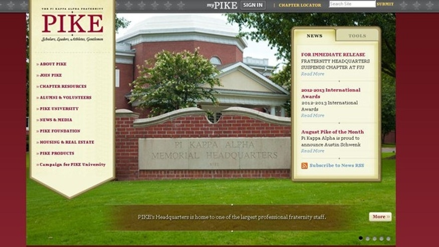 The Pi Kappa Alpha Fraternity's website.