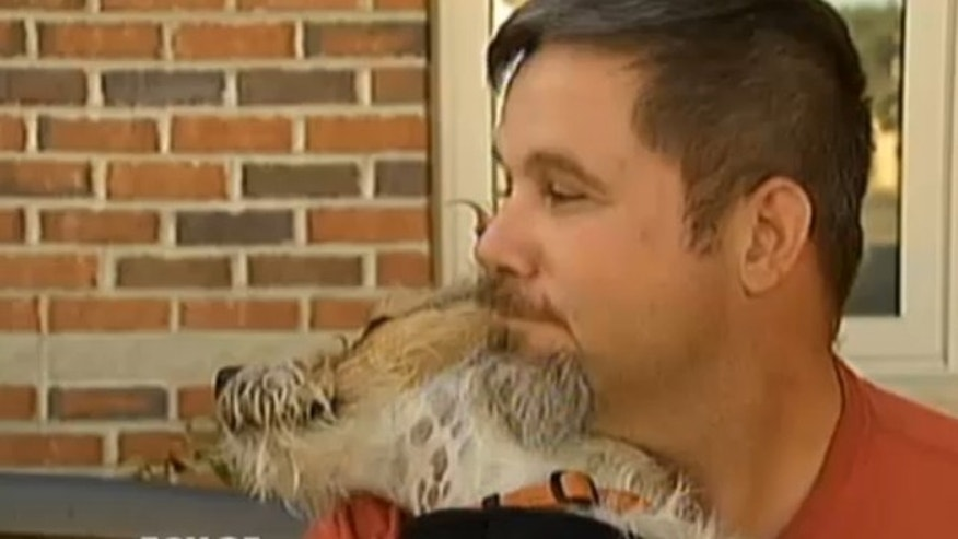 James Glasser, a Massachusetts military veteran, and his service dog, Jack, were refused a return visit to a diner in Oxford.