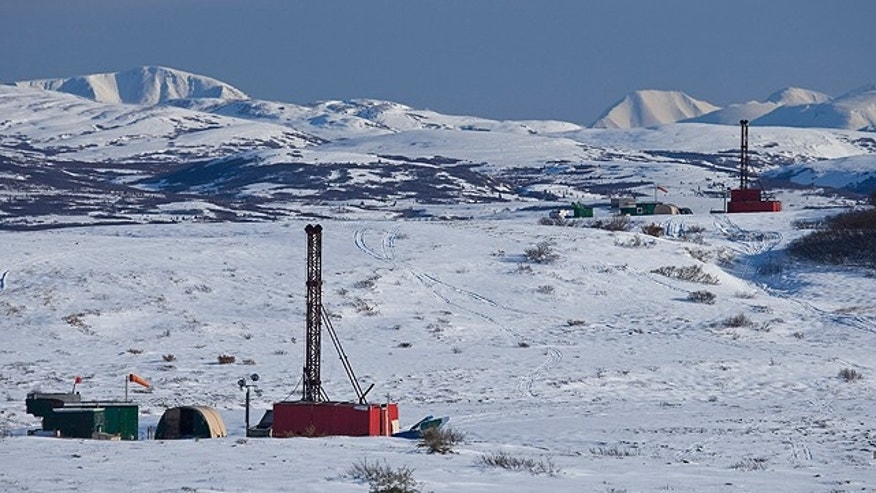 Using exploration drill rigs, The Pebble Partnership is currently analyzing what may be the largest undeveloped copper deposit in North America, located in southwest Alaska. (Courtesy: Pebble Partnership)