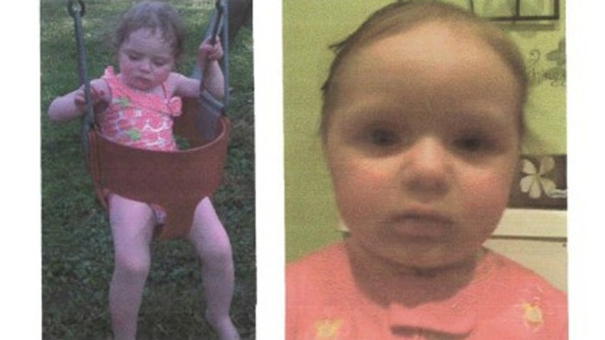 These photos appeared on a missing persons poster and show undated photos of Elaina Steinfurth
