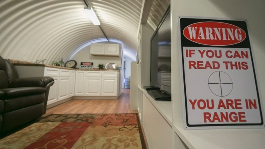Aug. 12, 2013: In this photo, the interior of an Atlas Survival shelter made of galvanized corrugated pipe is showcased at the plant in Montebello, Calif. The City Council in Menifee in Riverside County has approved a controversial ordinance that will allow residents to build underground bunkers on their properties. Survivalist types spend big money on these state-of-the-art, luxury shelters. But city officials are concerned about toxins in the soil, earthquakes, structural stability and whether police and first responders will be safe responding to emergency calls coming from people hiding out underground. Plus, they say, underground rooms could conceal criminal activity, such as drug manufacturing.
