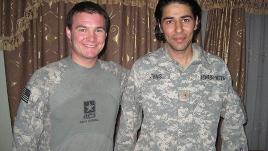 Matt Zeller (l.) credits Janis Shinwari (r.) with saving his life in Afghanistan.