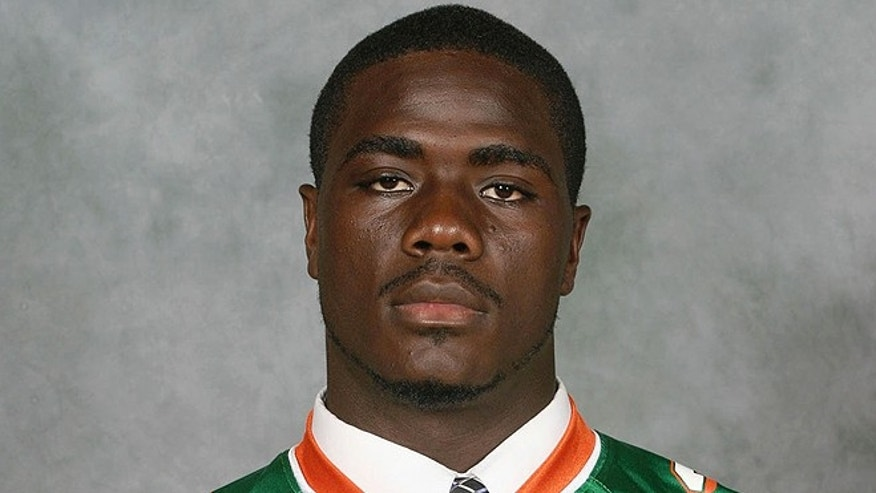 Jonathan Ferrell is seen in an undated photo provided by Florida A&M University. Ferrell, 24, was shot and killed Saturday, Sept. 14, 2013, by North Carolina police officer Randall Kerrick after a wreck in Charlotte, N.C.  Ferrell was unarmed. Police said Kerrick was charged with voluntary manslaughter. (AP/Florida A&M University)
