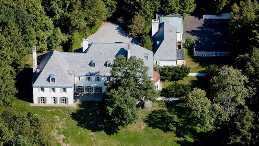 In this Aug. 2010 photo provided by Barbara Cleary's Realty Guild, Huguette Clark's New Caanan, Conn., estate is shown.