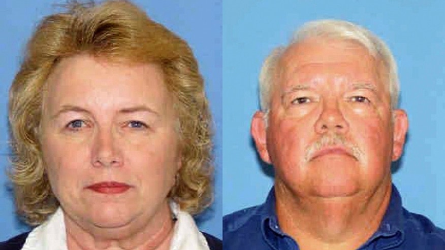 FILE - This undated file photo released by the New Mexico Department of Public Safety shows shooting victims, Linda and Gary Haas of Tecumseh, Okla. Prosecutors say escaped Arizona prisoner John McCluskey killed the retired Oklahoma couple in cold blood while on the run and should be convicted of capital murder.   (AP Photo/New Mexico Department of Public Safety, File)