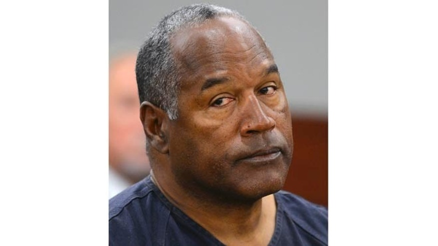 May 14, 2013: This file photo shows O. J. Simpson in Clark County District Court in Las Vegas.